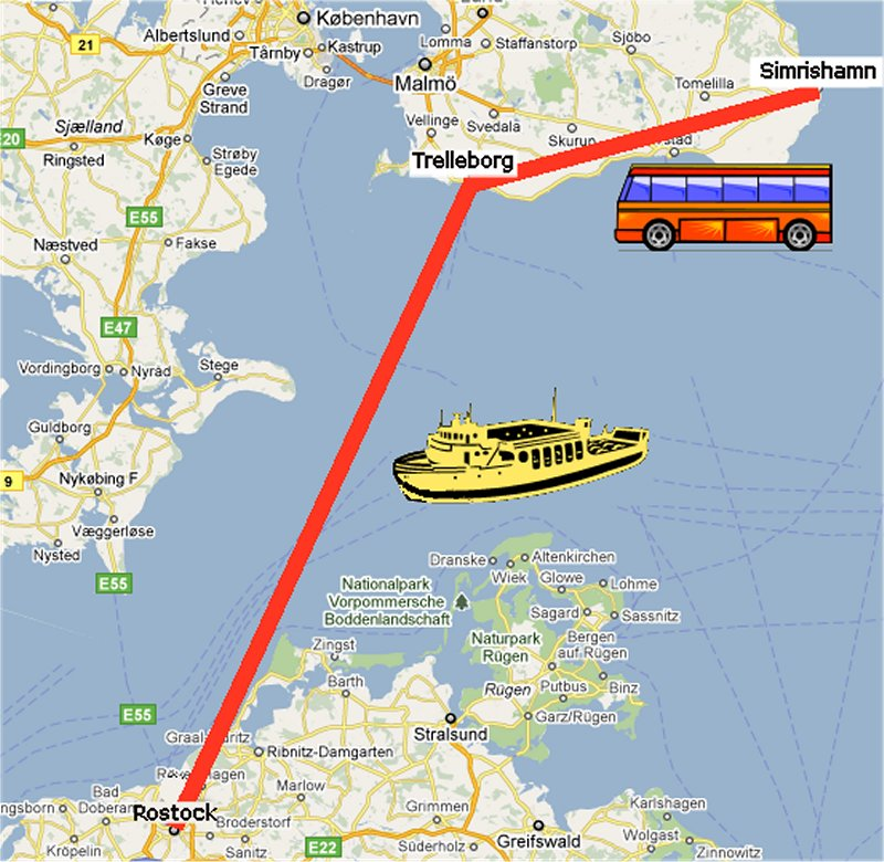 Rostock Karta Karta